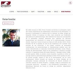 Florian Forestier ⋆ Prospéro