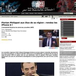 Florian Philippot aux élus de sa région : rendez les iPhone 6