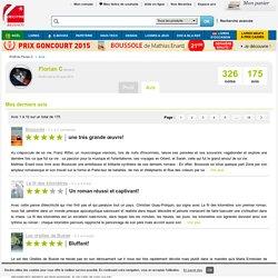 Avis de Florian C sur decitre.fr - Livres et produits culturels