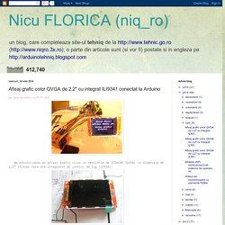 "Nicu FLORICA (niq_ro): Afisaj grafic color QVGA de 2,2"" cu integrat ILI9341 conectat la Arduino"