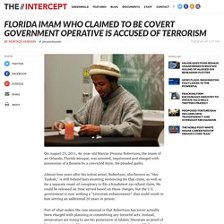 Florida Imam With Past FBI Links Accused of Terrorism