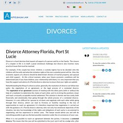 Florida Divorce Attorney,Port St. Lucie