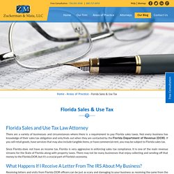 Florida Tax Litigation Attorney
