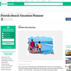 Florida Beach Vacation Planner