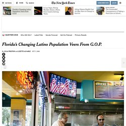 Florida's Changing Latino Population Veers From G.O.P.
