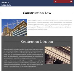 Construction Attorney Florida