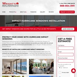 Hurricane Impact Window Installation in Boca Raton, Florida