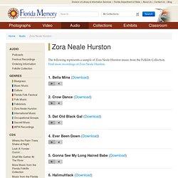 Florida Memory - Audio - Zora Neale Hurston