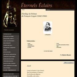 Florilège de poèmes de François Coppée