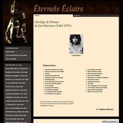 Florilège de poèmes de Jim Morrison