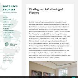 Florilegium: A Gathering of Flowers