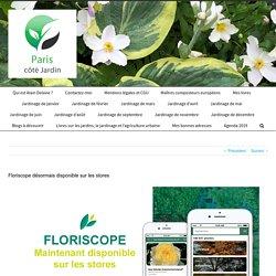 Floriscope désormais disponible sur les stores