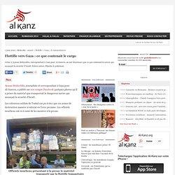 Flottille vers Gaza : ce que contenait le cargo