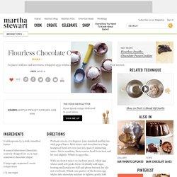 Flourless Chocolate Cupcakes Recipe