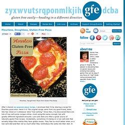 Flourless, Gluten-Free Pizza