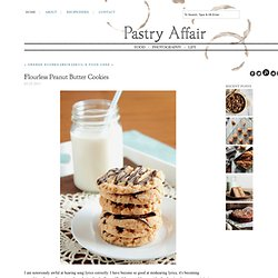 Pastry Affair - Home - Flourless Peanut ButterCookies