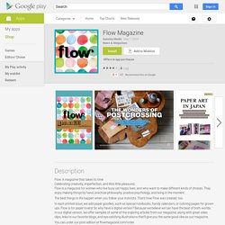 Flow Magazine - Android Apps on Google Play