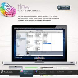 Flow — The Mac's Best FTP + SFTP Client