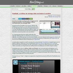 Flowblade ; un éditeur de montage vidéo non-linéaire à connaître