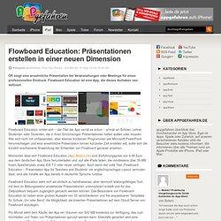Flowboard Education: Präsentationen für Schule, Uni & Beruf