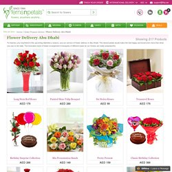 Online Flower Shop Abu Dhabi - Ferns N Petals