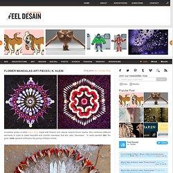 Flower Mandalas art pieces