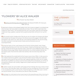 """Flowers"" by Alice Walker"