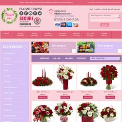 Cheap Boston Flowers Delivery from Boston Florists and Flower Shops