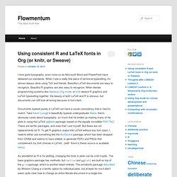 Flowmentum » The data must flow