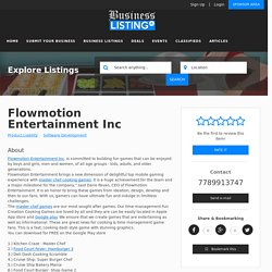 Flowmotion Entertainment Inc, United States, biritsh columbia, West Vancouver