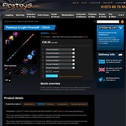 Firetoys - Flowtoys 6 Light Flowstaff - 94cm