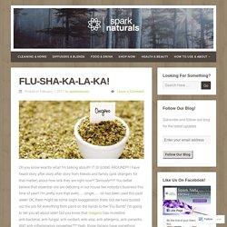 FLU-Sha-Ka-La-Ka! – Spark Naturals Blog