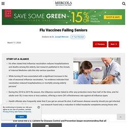 Flu Vaccines Failing Seniors