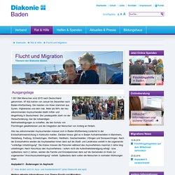 Flucht und Migration- Diakonie Baden