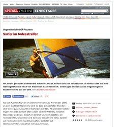 DDR - Flucht auf dem Surfbrett