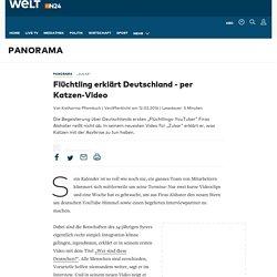 """Zukar"": Flüchtling erklärt Deutschland"
