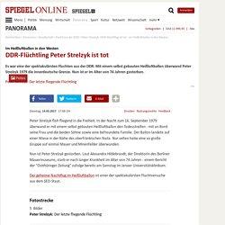 Peter Strelzyk: DDR-Flüchtling ist tot - Im Heißluftballon in den Westen - SPIEGEL ONLINE