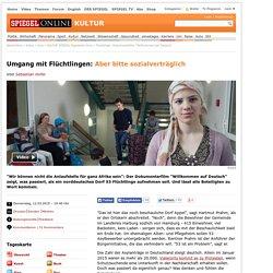 """Flüchtlinge: Dokumentarfilm """"Willkommen auf Deutsch"""""""