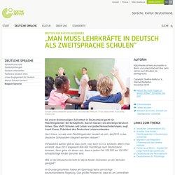 """Deutsch für Flüchtlingskinder: """"Man muss Lehrkräfte in Deutsch als Zweitsprache schulen"""""""