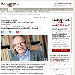Harald Martenstein zur Flüchtlingskrise: Ohne Reiche gäbe es keinen Sozialstaat - Politik
