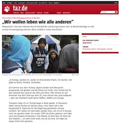 """Zwei Jahre Flüchtlingsproteste in Berlin: """"Wir wollen leben wie alle anderen"""""""