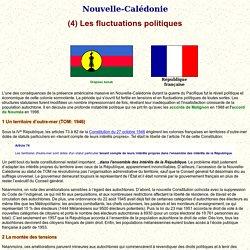 Nouvelle-Calédonie: les fluctuations politiques