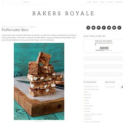 Fluffernutter Bars | Bakers Royale