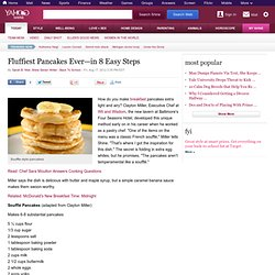 Fluffiest Pancakes Ever—in 8 Easy Steps | Shine Food
