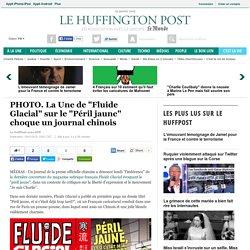 """PHOTO. La Une de """"Fluide Glacial"""" sur le """"Péril jaune"""" choque un journal chinois"""