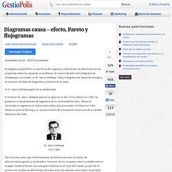 Diagramas causa – efecto, Pareto y flujogramas