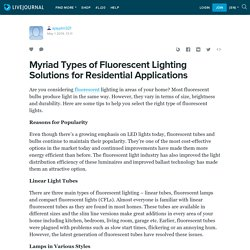 How Fluorescent Lighting Solutions will Enhance Your Place