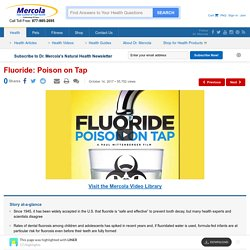 Fluoride: Poison on Tap - 17 Highlights with LINER