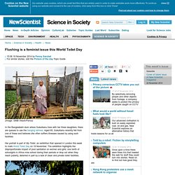 Flushing is a feminist issue this World Toilet Day - science-in-society - 19 November 2014