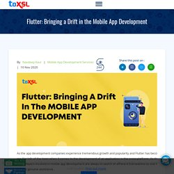Flutter: Bringing a Drift in the Mobile App Development